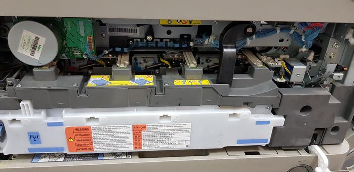 Замена ITB на Canon IR-ADV C5030i Canon, Копировальный аппарат, Ремонт техники, Длиннопост