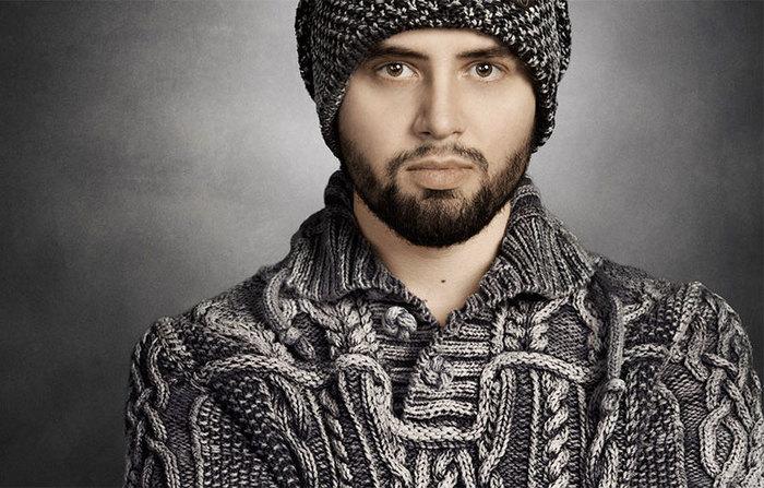 Мужской свитер Рукоделие без процесса, Вязание, Вязаный свитер, Длиннопост