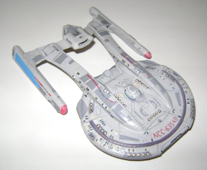 Star Trek: Akira на 3d принтере Моделизм, Стендовый моделизм, Star Trek, 3D печать, Космический корабль, Длиннопост