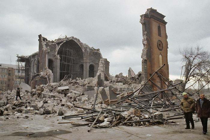30 лет катастрофе в Армении Землетрясение, Армения, Годовщина, Трагедия, Длиннопост