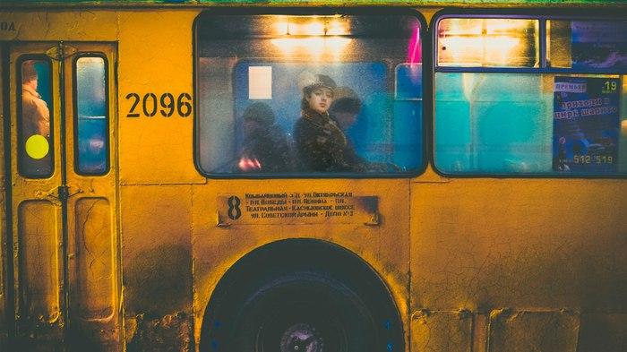 Рязань. Неизвестная в троллейбусе. Рязань, Арт, Фотошоп мастер, Отфотошопьте, Неизвестная, Крамской, 2D Among Us, Троллейбус