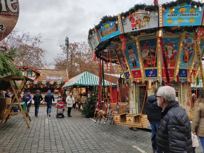 Рождественский рынок в Фюрте Германия, Рождество, Фотография, Фюрт, Обед, Длиннопост