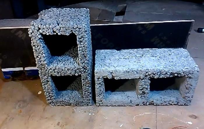 Эксперимент - это вам не фанера Колонки своими руками, Из бетона, Акустика  из блоков e4a155b95fc