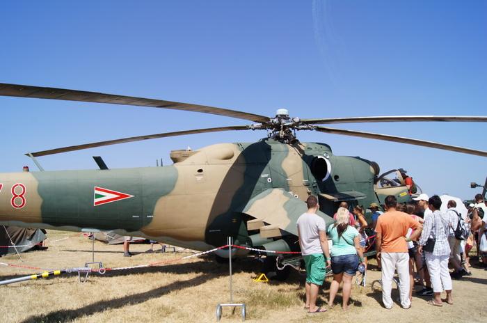 МИ-24 Кечкемет.Венгрия. Вертолёт, Венгрия, Ми-24, Авиашоу, Длиннопост