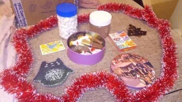 Подарок с обмена Миррочки Обмен подарками, Новогодний обмен подарками, Длиннопост, Тайный Санта, Новый Год, Отчет по обмену подарками