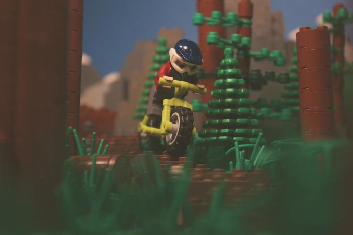 LEGO байк LEGO, Mtb, Велосипед, Игрушки, Игры, Видео