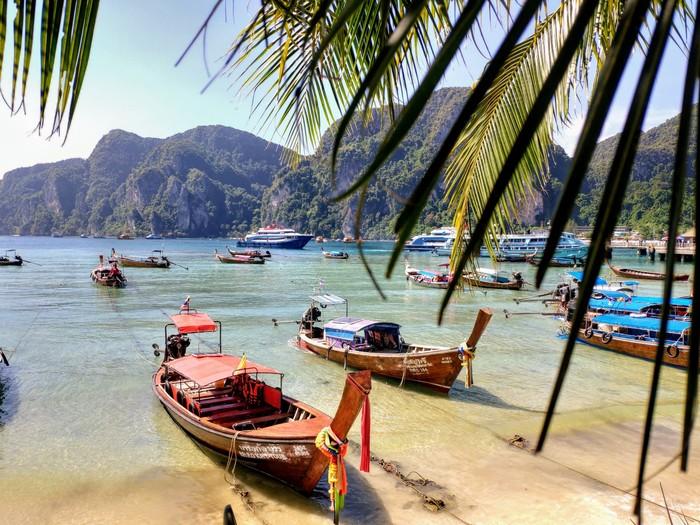 Острова Пхи-Пхи, Тайланд Пхи Пхи, Лига путешественников, Путешествия, Подводный мир, Видео, Длиннопост