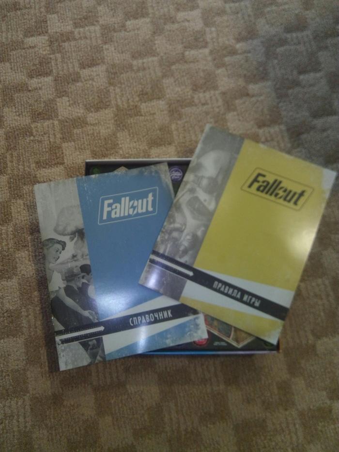 Fallout Настольная игра. Мини обзор. Настольные игры, Длиннопост, Fallaut настольная игра, Обзор, Хвастаюсь