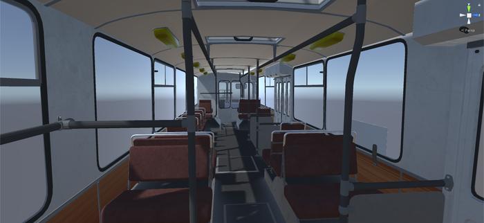 Симулятор Троллейбуса Троллейбус, Unity, Unreal Engine 4, Длиннопост, Gamedev, Компьютерные игры, Игры