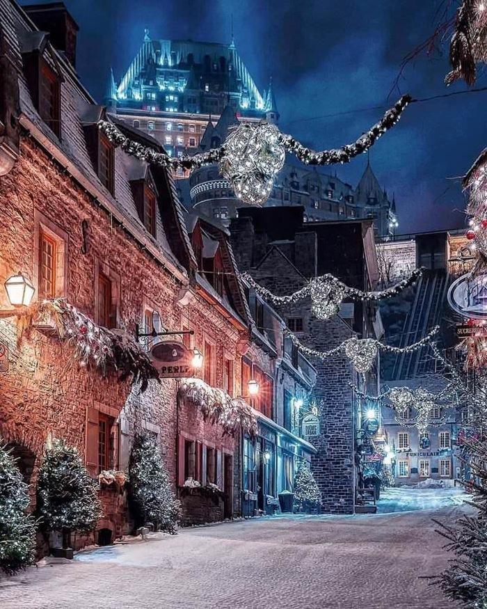 Зимний Квебек
