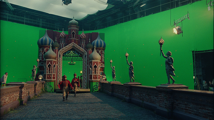 Спецэффекты фильма «Щелкунчик и четыре королевства» Фильмы, Щелкунчик и четыре королевства, Спецэффекты, До и после vfx, Маккензи Фой, Длиннопост