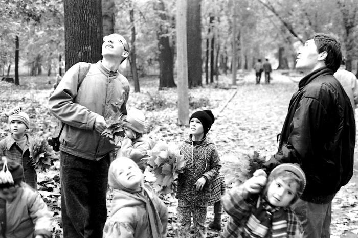 Это было возможно - воспитатели-мужчины Педоистерия, СССР, Детский сад, Фотография, Историческое фото, Воспитатель