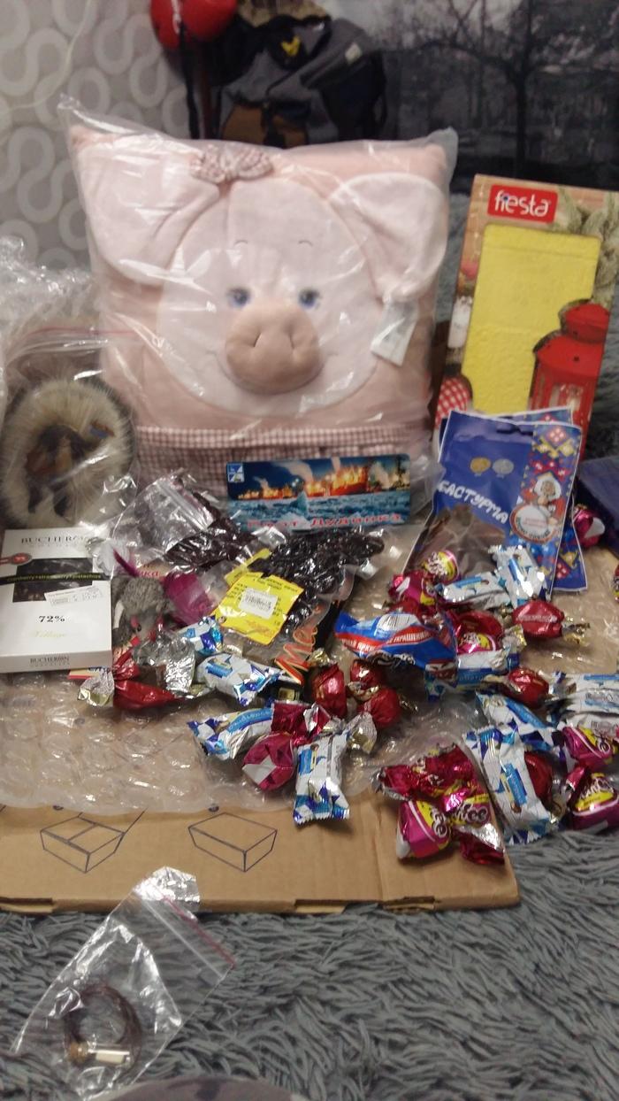 Мой тайный дедушка мороз с г.Дудинка и бивень мамонта) Подарок, Тайный Санта, Дед Мороз, Длиннопост, Обмен подарками