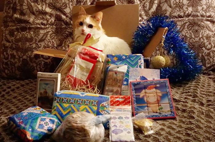 Подарок отСнегурочки Светланы! Новогодний обмен подарками, Тайный Санта, Обмен подарками, Отчет по обмену подарками, Длиннопост