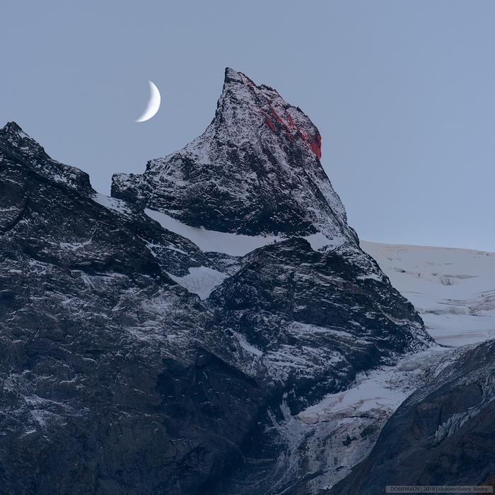 Кровавый Зуб Софруджу Горы, Пейзаж, Закат, Фотография