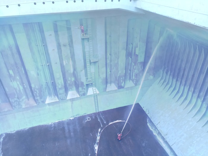 Продолжение о море. Балкер: замывка и пиратская зона Море, Работа, Пираты, Длиннопост