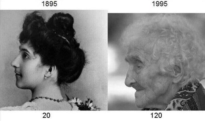 История женщины, дожившей до 122 лет Жанна Кельман, Долгожитель, Интересное, Новости, History post, Биография, Длиннопост