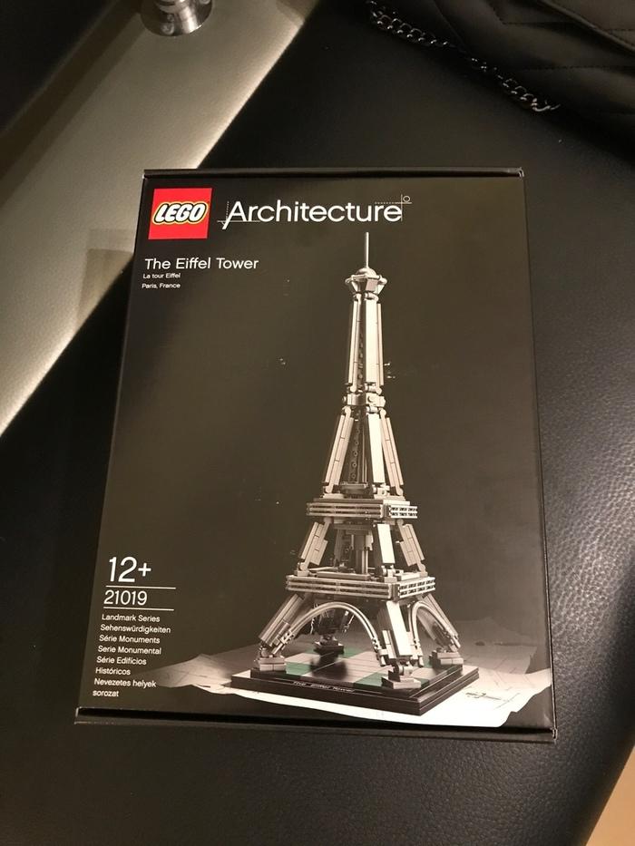 Lego Architecture - Эйфелева башня LEGO, Архитектура, Эйфелева башня, Длиннопост
