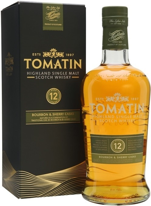Tomatin 12 y.o. Шотландский виски, Виски, Алкоголь