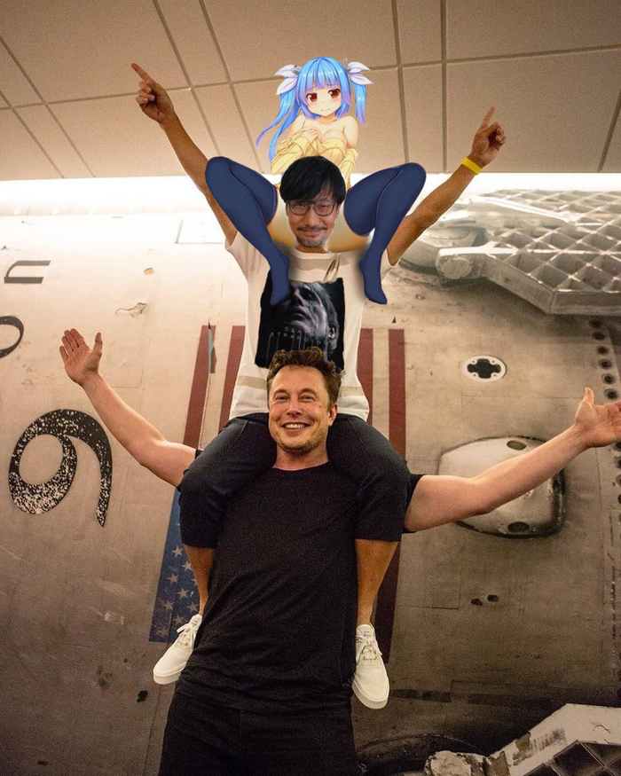 Кодзима И Маск гении