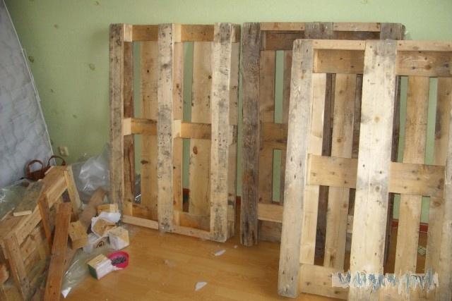 Как я кровать из поддонов смастерил Кровать, Строительство, Длиннопост