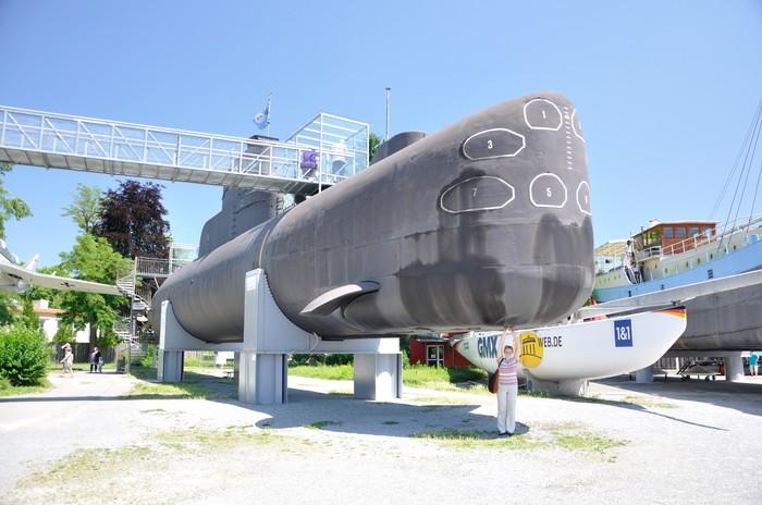 Музеи техники в Шпайере и Зинсхайме (часть 2) Музей, Космос, Буран, Подводная лодка, Самолет, Длиннопост