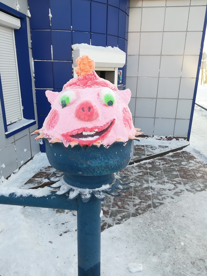 Смешарики уже не те... Смешарики, Длиннопост, Ледяная скульптура, Анжеро-Судженск