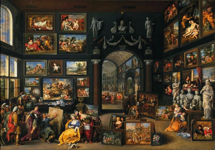 Про любовницу Пазл, Искусство, Хобби, Картина, Картина с историей, Длиннопост