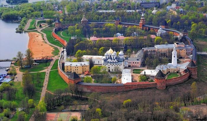 Новгородский детинец (Кремль). Великий Новгород, Новгородский кремль, Детинец, Длиннопост
