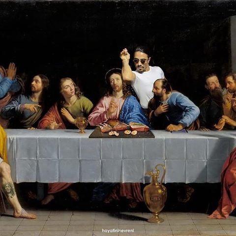 Журналист опубликовал мем с Иисусом и угодил под арест Оскорбление чувств верующих, Журналисты, Мемы, Тайная вечеря