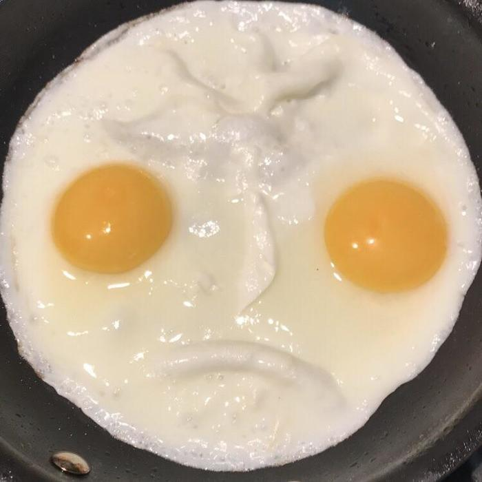 Суровая яичница