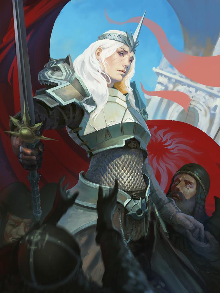 Пророчица Dragon Age, Андрасте, Лор, Арт, Рисунок, UnccleUlty