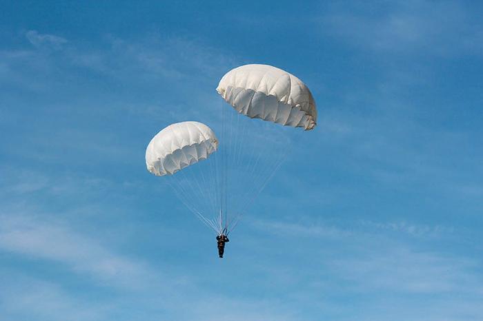 Недопрыжок с парашютом. Прыжок с парашютом, Забавное, Длиннопост