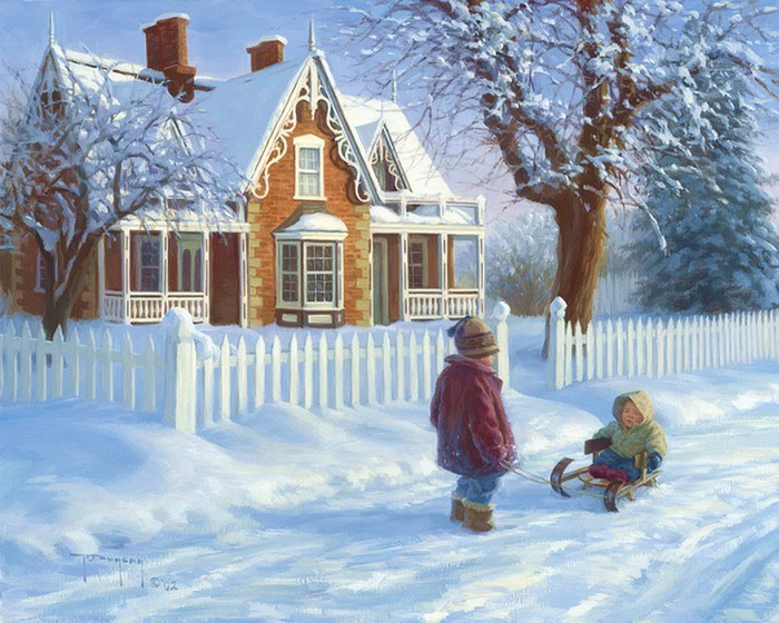 Однажды зимой в детстве...Помните? Однажды, Зима, Длиннопост