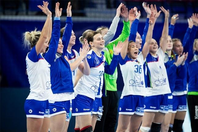 Сборная России по гандболу впервые за 10 лет вышла в полуфинал ЧЕ Гандбол, Девушки, Чемпионат, Успех