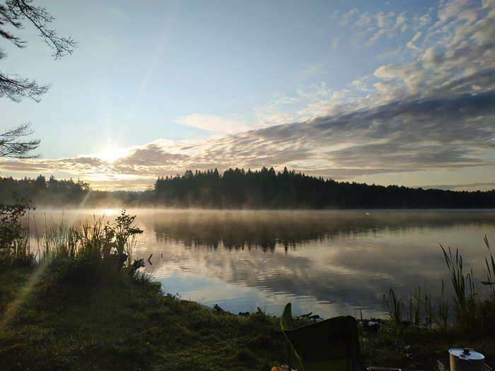 Утренняя дымка Рассвет, Фотография, Природа, Путешествия