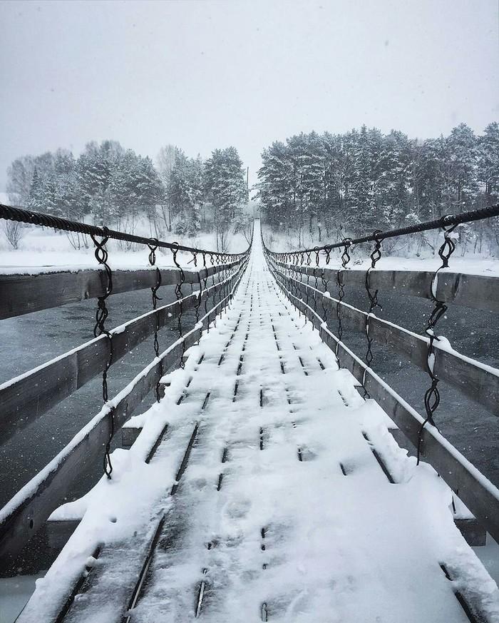 Мост в Пермском крае