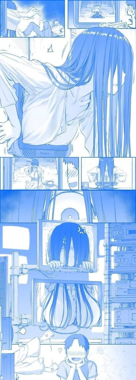 Random comic Комиксы, Звонок, Аниме, Не аниме, Himura Kiseki