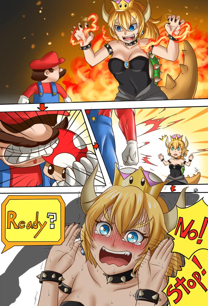 Из охотника в жертву Марио, Bowsette, Super Mario, Супер корона, Комиксы