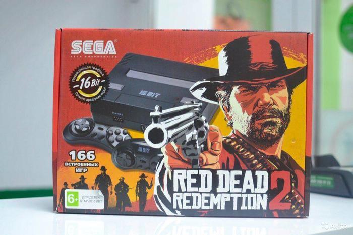 «Сына-корзина, это тебе от нас с отцом тебе на Новый год...» Red Dead Redemption 2, Sega, Пираты, Китай, Подделка