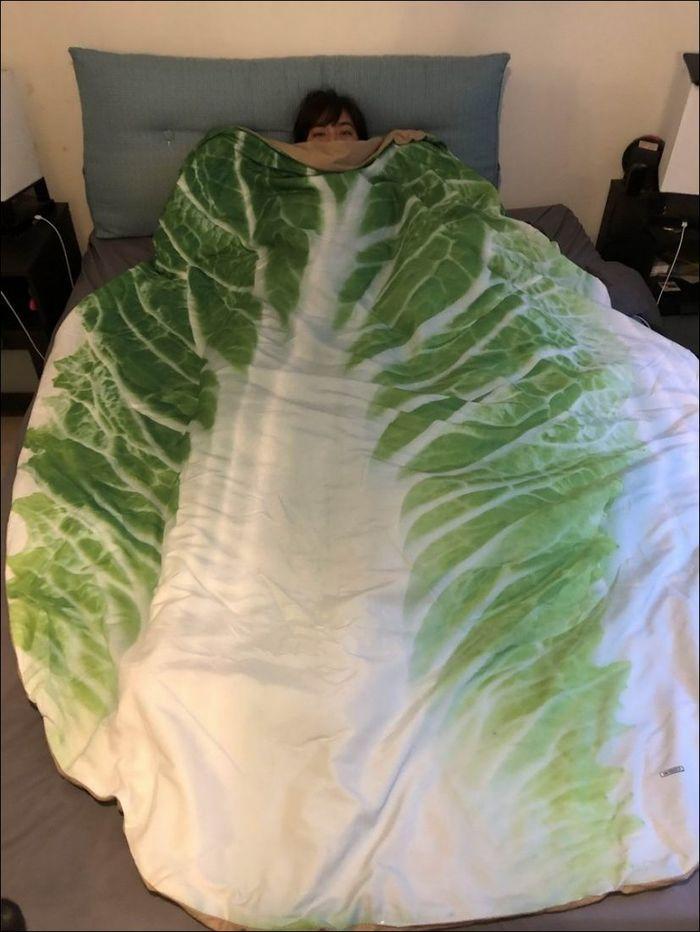 Веганское одеяло