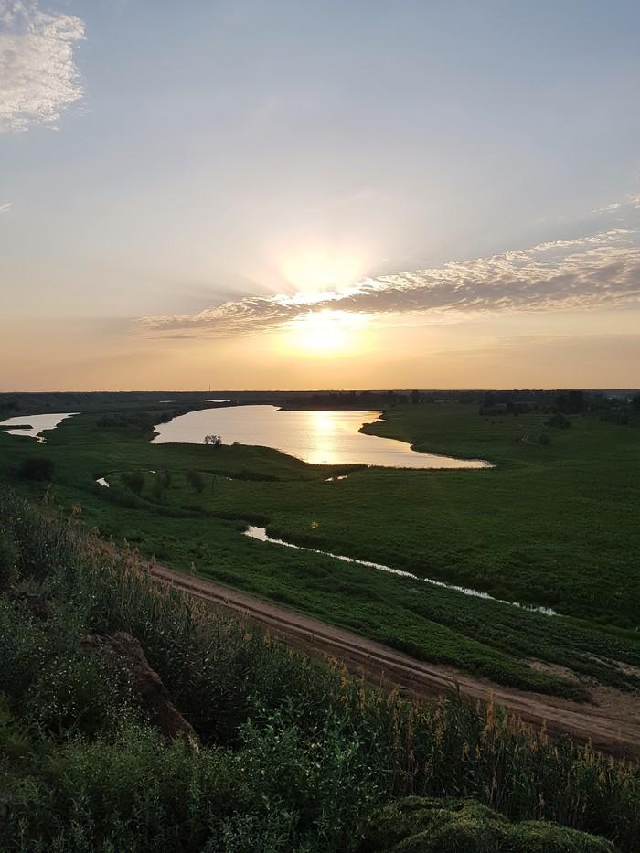 Закат Длиннопост, Мобильная фотография, Закат, Волгоградская область
