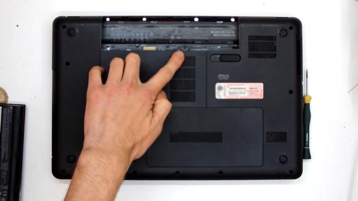 Чистка ноутбука HP Compaq CQ57, или страшный сон сервисника... Ноутбук, Чистка, Пыль, Не ремонт, Видео, Инструкция, Фотография, Длиннопост