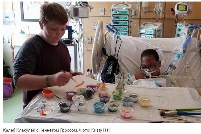 12-летний школьник устроился на работу, чтобы оплатить надгробие для друга Дружба, Друзья, Помощь, Дети, Трогательное, Болезнь, Пожертвования