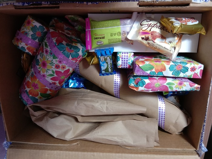 Не анонимный Дед Мороз. Обмен подарками, Не анонимный, Подарок, Длиннопост