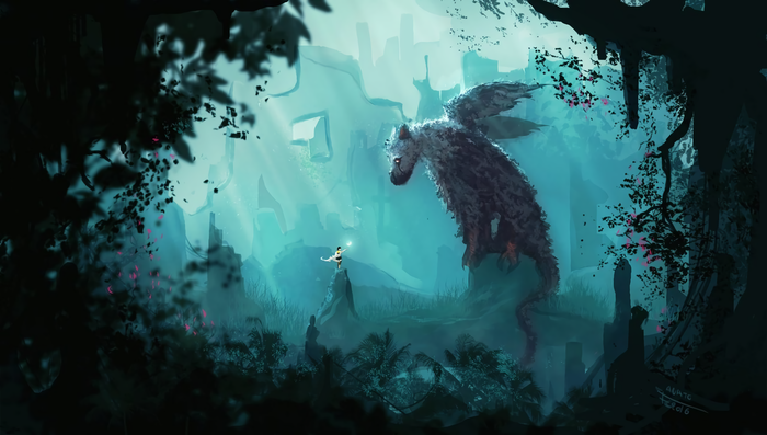 First contact Игры, Арт, The Last Guardian, Trico, The Boy, Anato Finnstark
