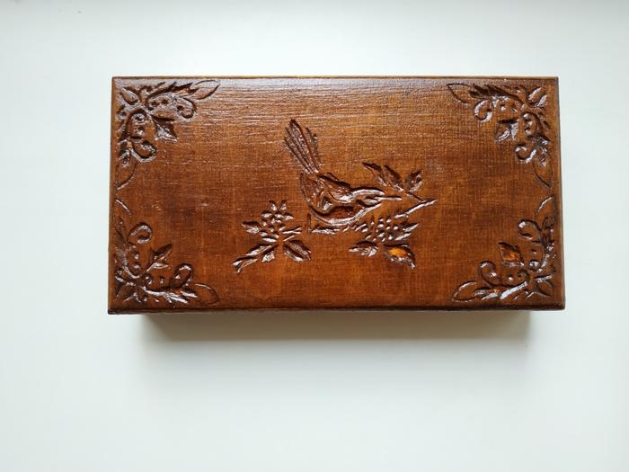Купюрница с птицей Своими руками, Рукоделие без процесса, Дерево, Работа с деревом, Длиннопост