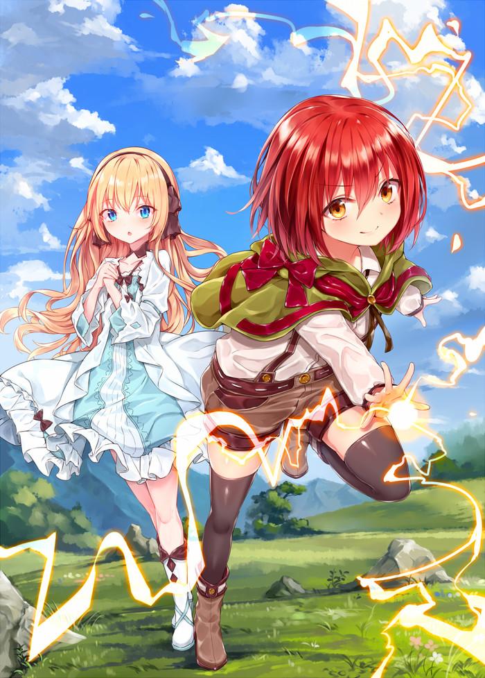 Anime art Anime Art, Levelmaker, Лайт-Новелла