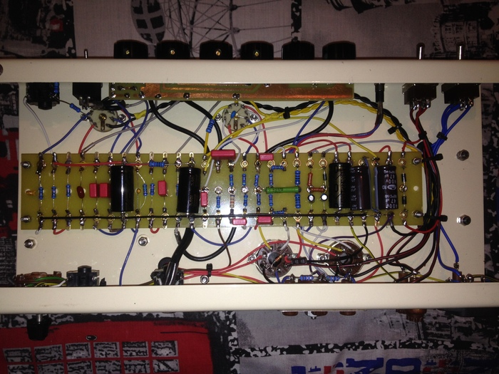 Домашняя рабочая лошадка по мотивам Fender Deluxe. Guitar tube amp, Fender, Своими руками, Длиннопост