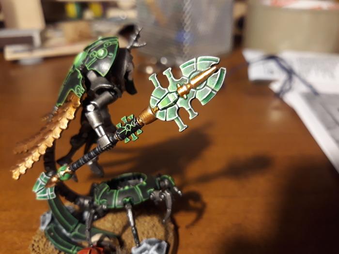 Будет знать, как воровать чужие артефакты Warhammer 40k, Криптек, Покраска миниатюр, Wh miniatures, Длиннопост